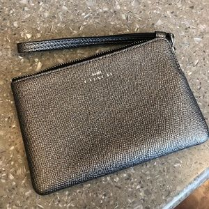 Small coach zipper pouch